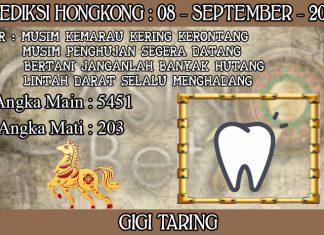 PREDIKSI TOGEL HONGKONG HARI SELASA 08 SEPTEMBER 2020