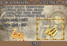 PREDIKSI TOGEL HONGKONG HARI SENIN 14 SEPTEMBER 2020