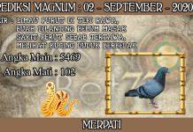 PREDIKSI TOGEL MAGNUM4D HARI MINGGU 02 SEPTEMBER 2020