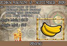PREDIKSI TOGEL MAGNUM4D HARI MINGGU 13 SEPTEMBER 2020