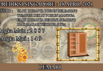 PREDIKSI TOGEL SINGAPORE HARI MINGGU 18 APRIL 2021