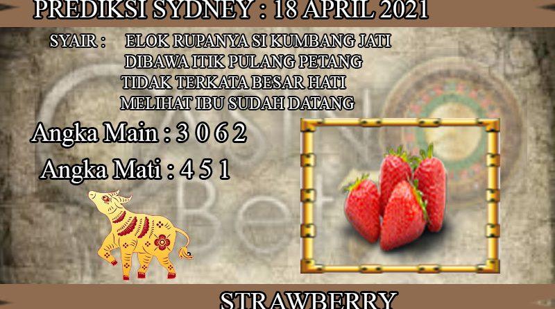 PREDIKSI TOGEL SYDNEY HARI MINGGU 18 APRIL 2021