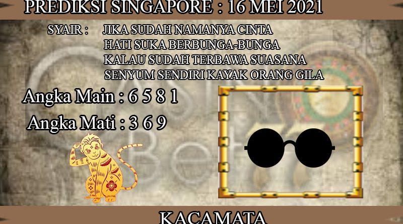 PREDIKSI TOGEL SINGAPORE HARI MINGGU 16 MEI 2021