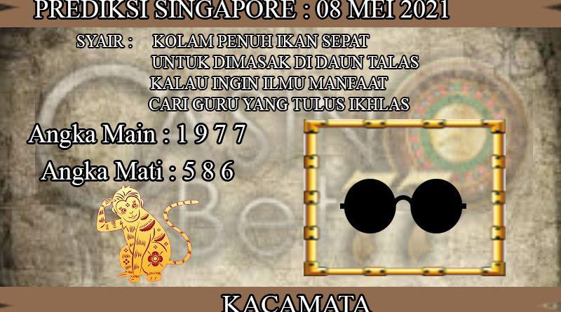 PREDIKSI TOGEL SINGAPORE HARI SABTU 08 MEI 2021