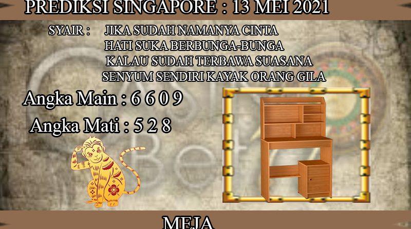 PREDIKSI TOGEL SINGAPORE HARI KAMIS 13 MEI 2021