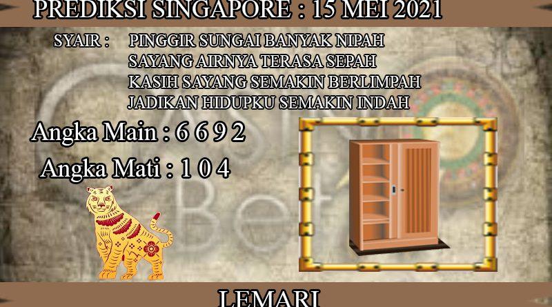 PREDIKSI TOGEL SINGAPORE HARI SABTU 15 MEI 2021