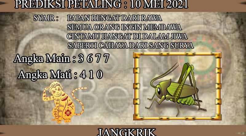 PREDIKSI TOGEL PETALING HARI SENIN 10 MEI 2021