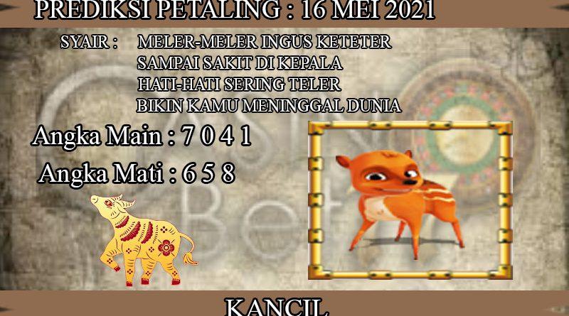 PREDIKSI TOGEL PETALING HARI MINGGU 16 MEI 2021