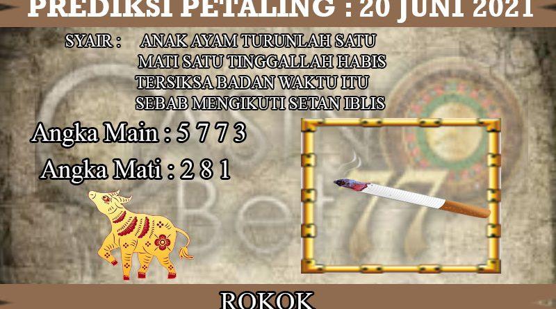 PREDIKSI TOGEL PETALING HARI MINGGU 20 JUNI 2021