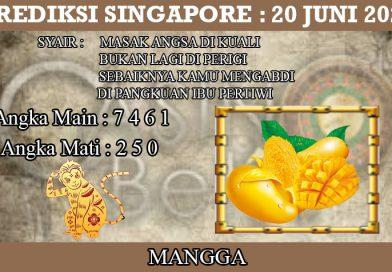 PREDIKSI TOGEL SINGAPORE HARI MINGGU 20 JUNI 2021