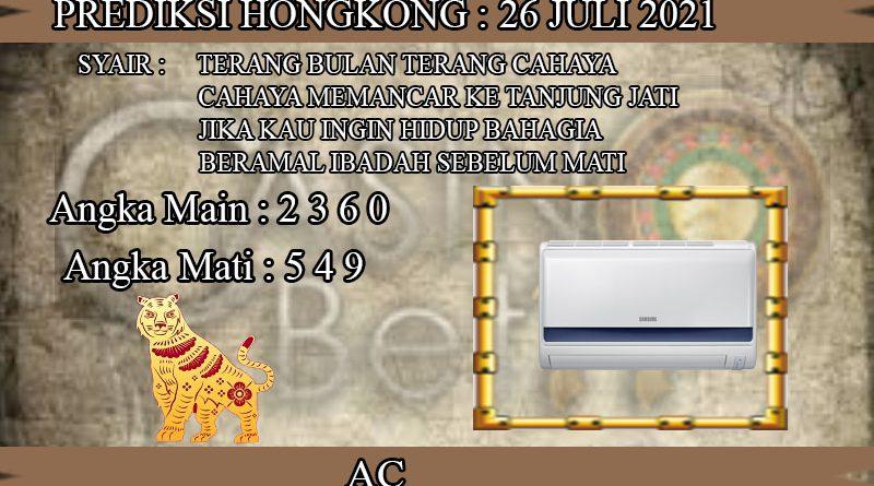 PREDIKSI TOGEL HONGKONG HARI SENIN 26 JULI 2021