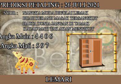 PREDIKSI TOGEL PETALING HARI SENIN 26 JULI 2021